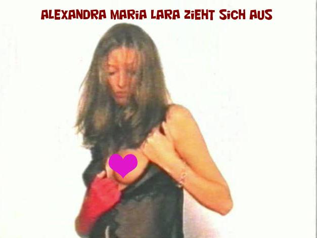 Alexandra Maria Lara nackt in einem Video